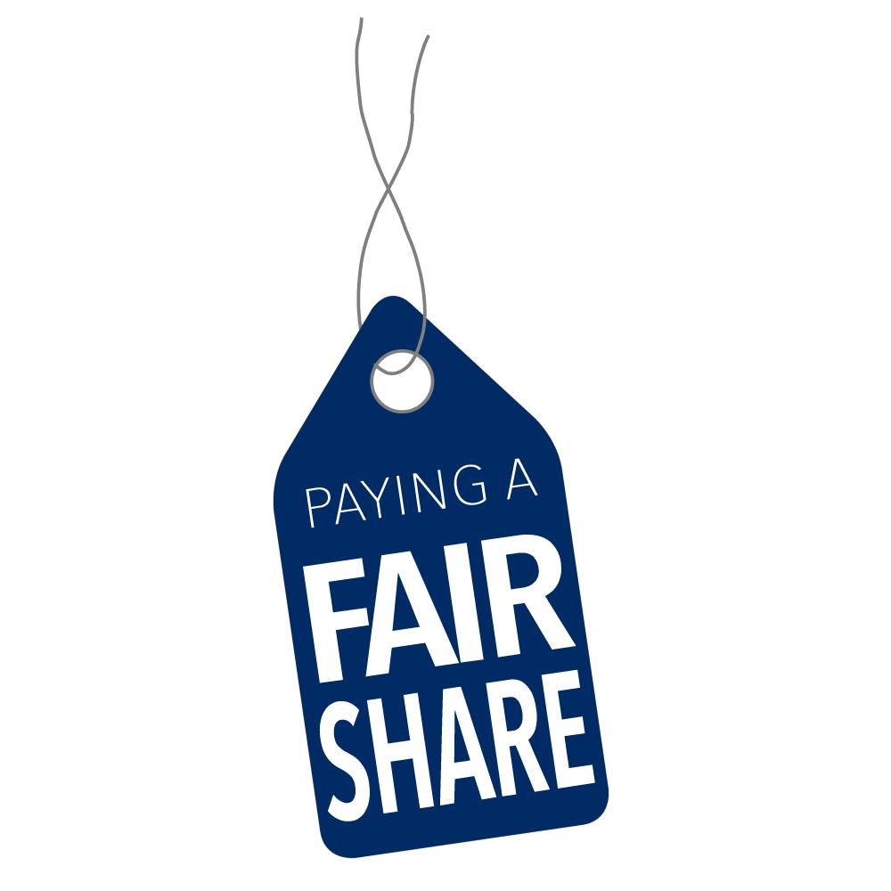 Paying a Fair Share Logo